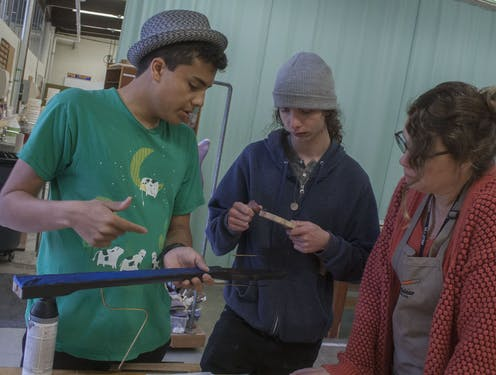 Teaching kids how to make guitars can get them hooked on engineering