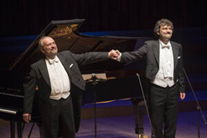 Jonas Kaufmann performing Schumann with Helmut Deutsch