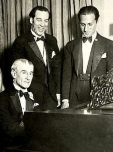 Maurice Ravel, Manoah Leide-Tedesco and George Gershwin