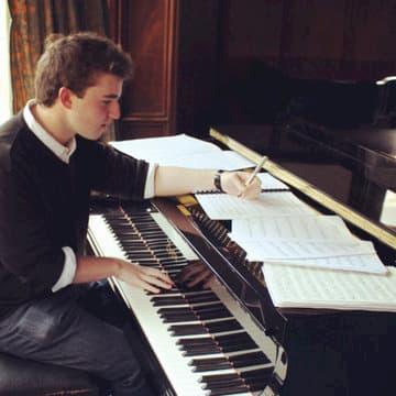 Composer Alex Woolf