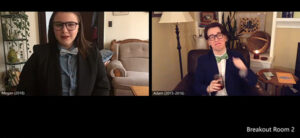 Bow Ties: Megan and Adam (Megan Malony and Adam Wells)