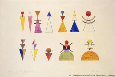 Kandinsky: Figurines at the Great Gate