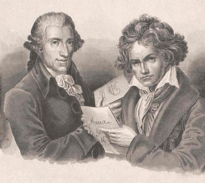 Haydn and Beethoven