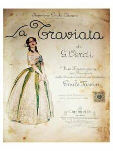 Poster of La Traviata