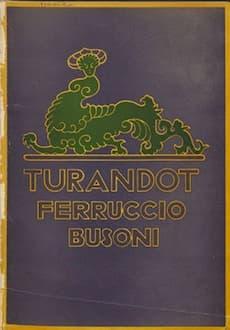 Turandot by Busoni
