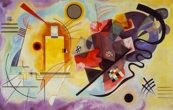 Kandinsky: <em>Yellow-Red-Blue</em> (1925) (Georges Pompidou Center, Paris, France)