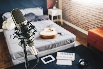 DIY home recording studio