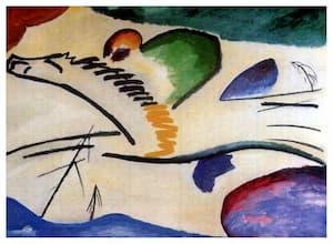 Kandinsky: Lyrical (1911) (Museum Boijmans van Beuningen, Rotterdam, Netherlands)