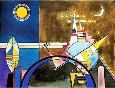 Art Into Music Into Art: Kandinsky and Mussorgsky