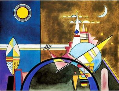 Kandinsky: The Great Gate of Kiev