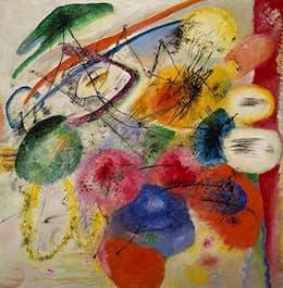 Kandinsky: <em>Traits Noirs</em>  (1930)