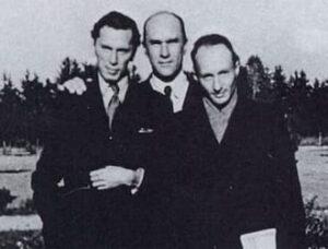 Andrzej Panufnik, Jarosław Iwaszkiewicz and Witold Lutosławski