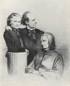 Plotényi Nándor, Reményi Ede and Liszt