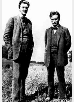 Alban Berg and Anton Webern