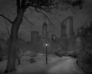 Central Park, at Dark, photo by Michael Massaia