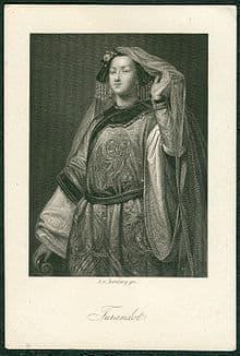 Turandot, Princess of China, by Georges François Louis Jaquemot