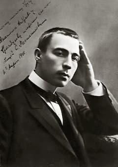 Sergei Rachmaninoff, 1906