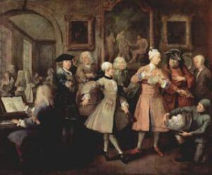 William Hogarth's A Rake's Progress: II – The Levée