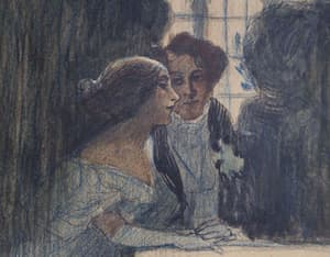 George Sand and Alfred de Musset