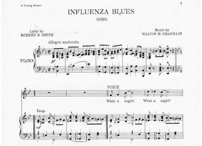 The 1918 Pandemic's Impact on Music? Surprisingly Little