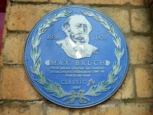 Plague of Max Bruch in Liverpool