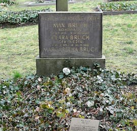 Tomb of Max Bruch