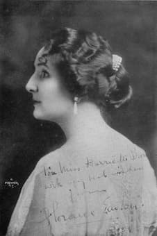 Florence Easton created the role of Lauretta at the world premiere of Puccini's Gianni Schicchi