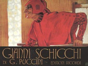 Giacomo Puccini one-act opera Gianni Schicchi