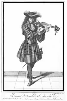 Nicolas Arnoult, one of the 24 violinists of the French king