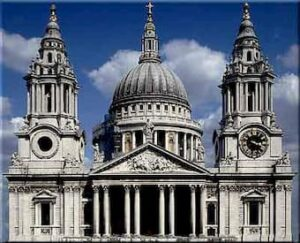 St. Paul's Cathedral, example of Baroque architecture