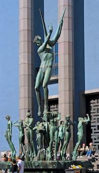Carl Milles: Orpheus Group (outside the Stockholm Concert Hall, Sweden)