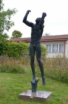 Carl Milles: Beethoven (1936) (Millesparken, Hällefors, Sweden)