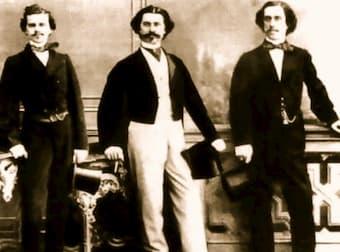 Johann Strauss II, Josef Strauss and Eduard Strauss