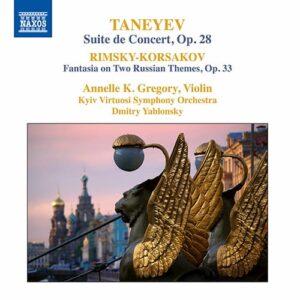 Rimsky-Korsakov's Fantasia on 2 Russian Themes album cover