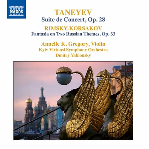 Rimsky-Korsakov's Fantasia on 2 Russian Themes album cover