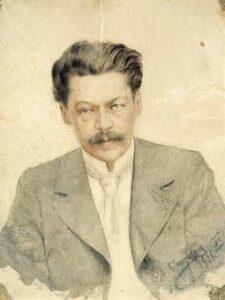 Portrait of Anton Arensky by Karl Tavaststerjna, 1901