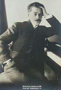 Anton Arensky, 1910