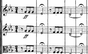 "The ""short-short-short-long"" motive in Beethoven's 5th Symphony is a must-listen classical music piece."
