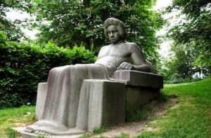 Beethoven's monument in Bonn