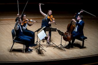 Doric String Quartet at Wigmore Hall