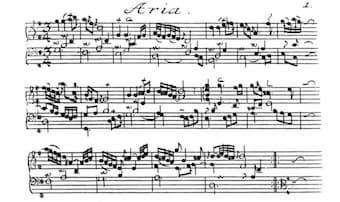 J.S. Bach's Goldberg Variations - Aria