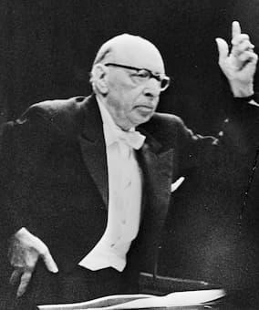 Igor Stravinsky, 1965