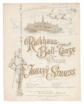 Rathaus-Ball-Tänze Waltz by Johann Strauss