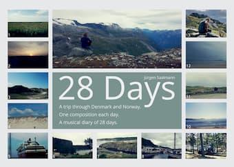 The Trail of Jürgen Saalmann's 28 Days