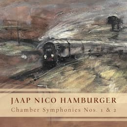 Jaap Nico Hamburger 's Chamber Symphonies Nos. 1 and 2 were released on disc by Leaf Music
