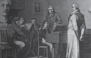 Mendelssohn's visit to Goethe