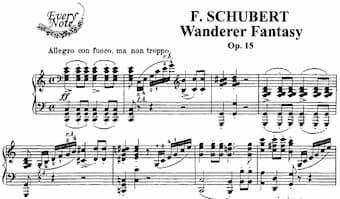 Schubert's Wanderer Fantasie in c major
