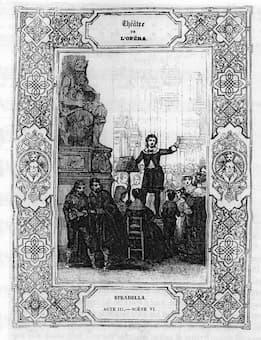 Act III of opera Stradella
