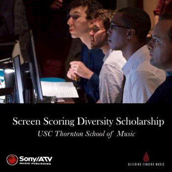 Sony/ATV & Bleeding Fingers Expand Opportunities for Black Composers with USC Screen Scoring Diversity Scholarship