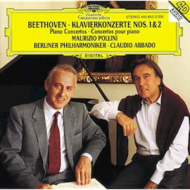 Maurizio Pollini's recordings of the Beethoven concertos with Claudio Abbado and the Berlin Philharmonic